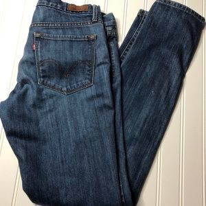 Levi's 421 skinny jeans